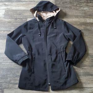 London Fog Soft Shell Jacket with Detachable Hood